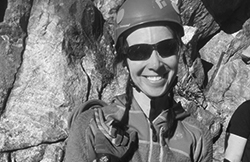LauraValdez_ClimbingForLife_BW